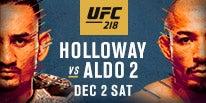 More Info for UFC 218