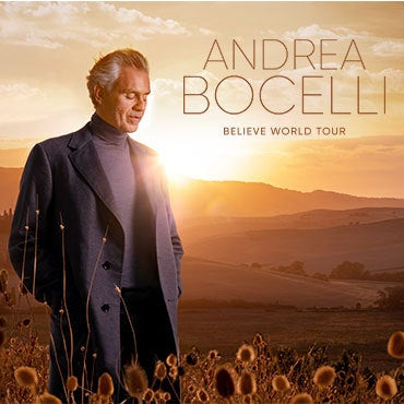 More Info for JUST ANNOUNCED: ANDREA BOCELLI 2021 U.S. TOUR COMING TO LITTLE CAESARS ARENA SUNDAY, DECEMBER 5, 2021