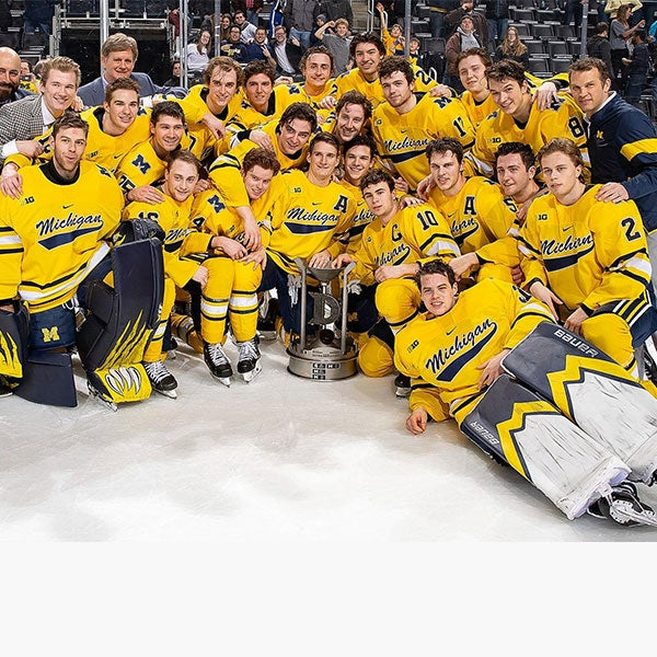 """More Info for MICHIGAN DEFEATS RIVAL MICHIGAN STATE IN ANNUAL """"DUEL IN THE D"""" AT LITTLE CAESARS ARENA"""