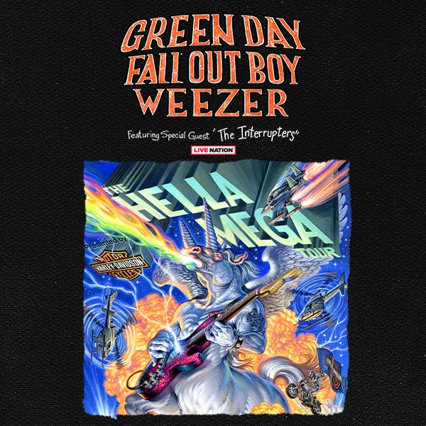 More Info for Green Day, Fall Out Boy and Weezer