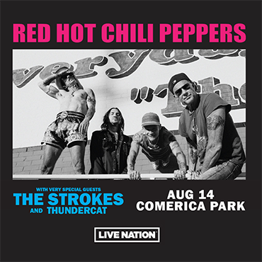 More Info for RED HOT CHILI PEPPERS 2022 GLOBAL STADIUM TOUR  TO PERFORM AT COMERICA PARK AUGUST 14, 2022