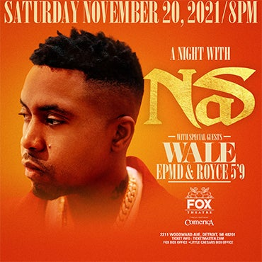 More Info for Mix 92.3 Presents A Night with Nas