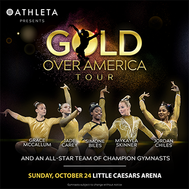 More Info for Simone Biles and Teammates Headline Athleta Presents Gold Over America Tour Landing in Detroit on October 24
