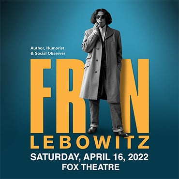 More Info for Fran Lebowitz