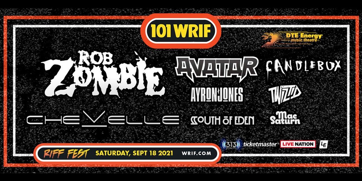101.1 WRIF presentsRIFF Fest 2021