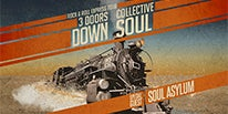 """More Info for 3 DOORS DOWN AND COLLECTIVE SOUL BRING """"THE ROCK & ROLL EXPRESS TOUR"""" TO MICHIGAN LOTTERY AMPHITHEATRE AT FREEDOM HILL AUGUST 7"""