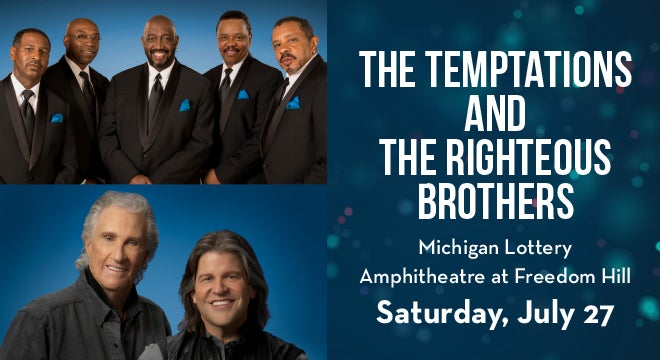 Andiamo Restaurants Presents The Temptations and The Righteous Brothers