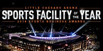 More Info for LITTLE CAESARS ARENA RECEIVES PRESTIGIOUS SPORTS FACILITY OF THE YEAR AWARD AT 2018 SPORTS BUSINESS AWARDS