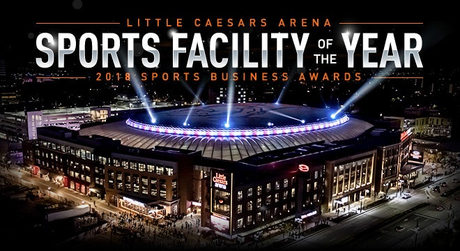 2017 : Little Caesars Arena Ribbon Cutting