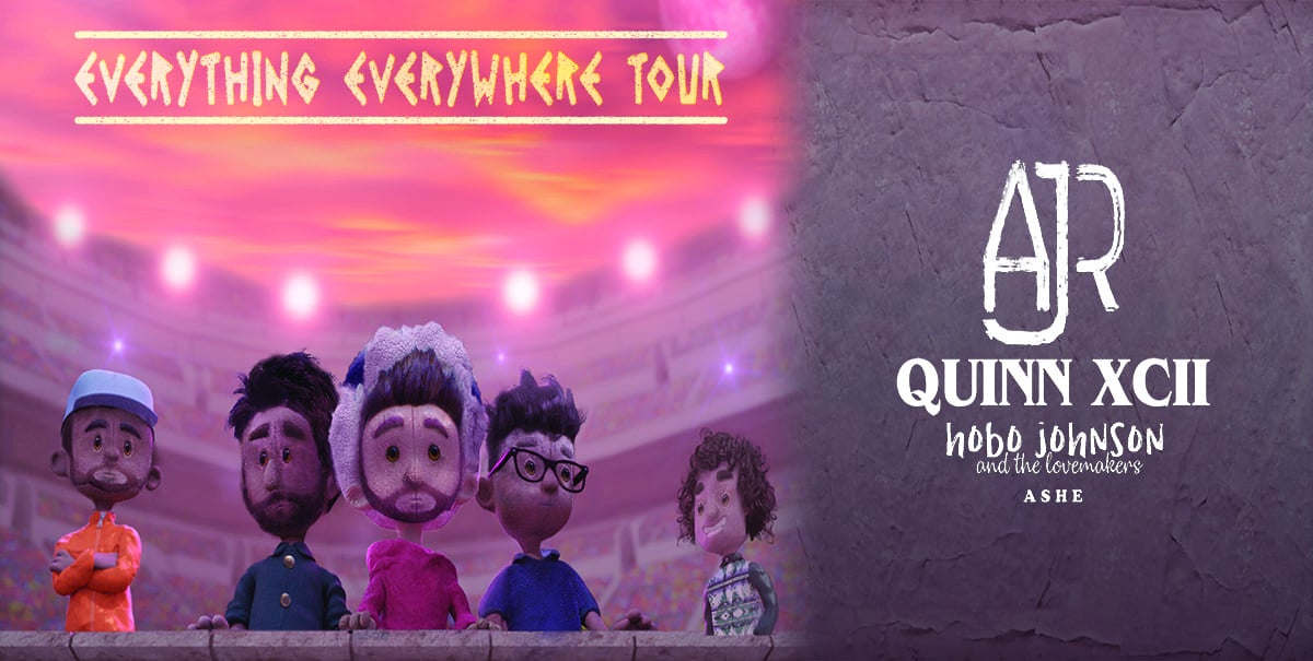 CANCELLED: AJR and Quinn XCII