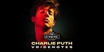"""More Info for 2018 Honda Civic Tour Presents Charlie Puth """"Voicenotes"""""""