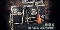 More Info for LEGENDARY ROCK BANDS CHICAGO & REO SPEEDWAGON TO BRING CO-HEADLINE NORTH AMERICAN SUMMER TOUR TO DTE ENERGY MUSIC THEATRE AUGUST 12