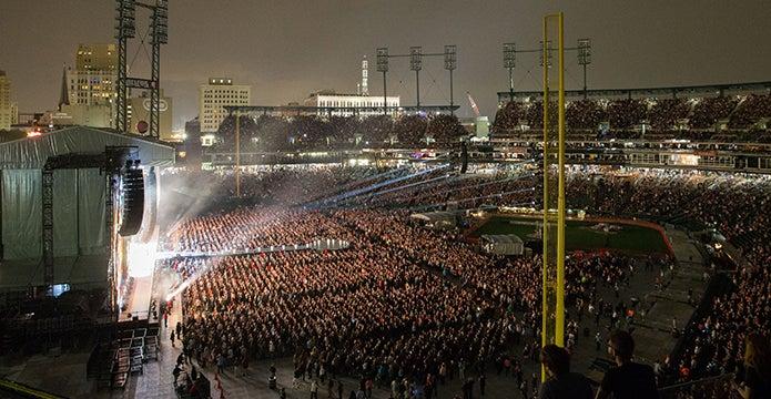 Official Comerica Park Concert Tickets & Venue Information ...