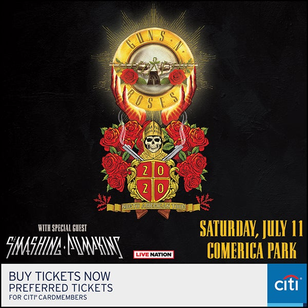 More Info for POSTPONED: Guns N' Roses