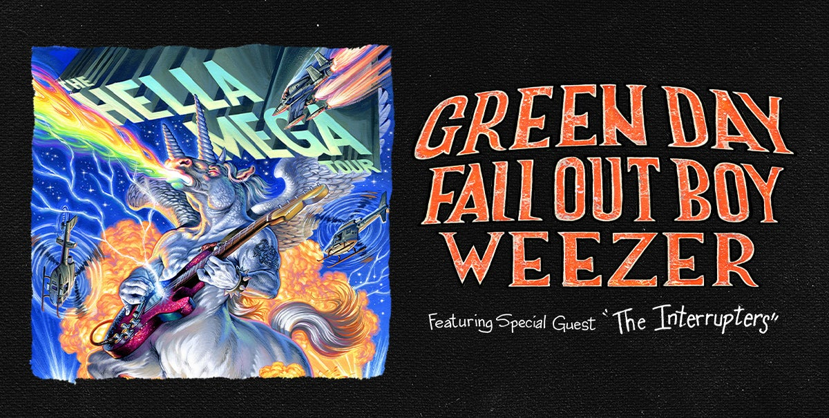 Green Day, Fall Out Boy and Weezer