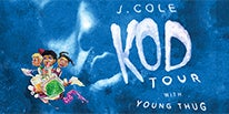"""More Info for J. COLE BRINGS NORTH AMERICAN """"KOD TOUR"""" TO LITTLE CAESARS ARENA WITH SPECIAL GUEST YOUNG THUG FRIDAY, SEPTEMBER 21"""