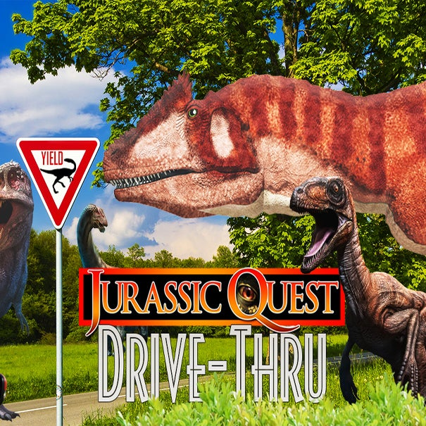More Info for JURASSIC QUEST DRIVE-THRU EXPERIENCE COMING TO DTE ENERGY MUSIC THEATRE PARKING AREA FOR EIGHT DAYS BEGINNING FRIDAY, AUGUST 7