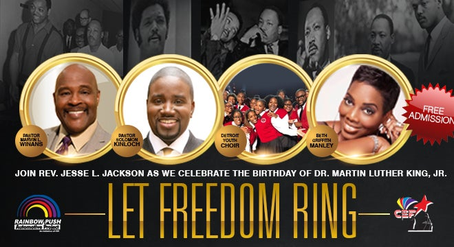 Let Freedom Ring: Celebrating the Birthday of Dr. Martin Luther King, JR.