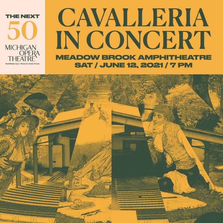 More Info for CAVALLERIA RUSTICANA IN CONCERT (Michigan Opera Theatre)