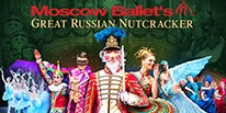 More Info for MOSCOW BALLET RETURNS WITH GREAT RUSSIAN NUTCRACKER – DOVE OF PEACE TOUR AT THE FOX THEATRE DECEMBER 23