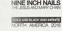 """More Info for NINE INCH NAILS BRING NEW TOUR """"COLD AND BLACK AND INFINITE NORTH AMERICA 2018"""" TO THE FOX THEATRE OCTOBER 22 & 23. BAND REVEALS COVER ART AND TRACK LISTING FOR NEW RECORD BAD WITCH, SET FOR JUNE 22 RELEASE"""