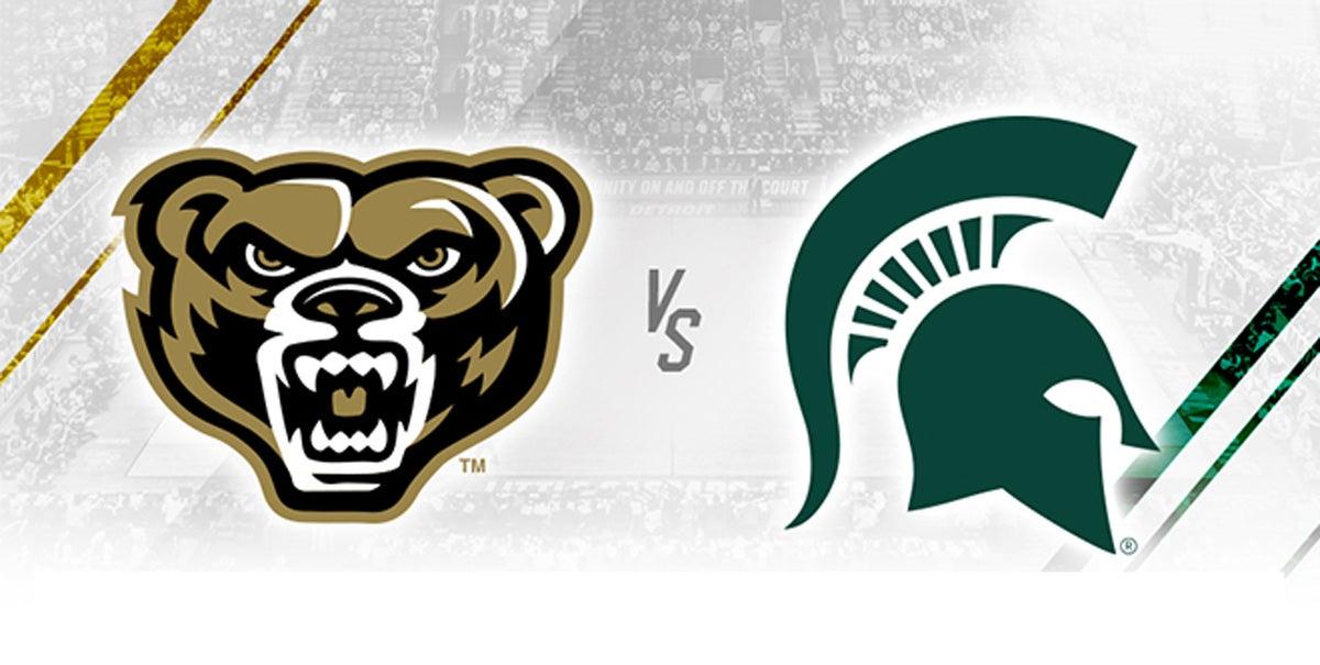 Oakland University vs Michigan State University