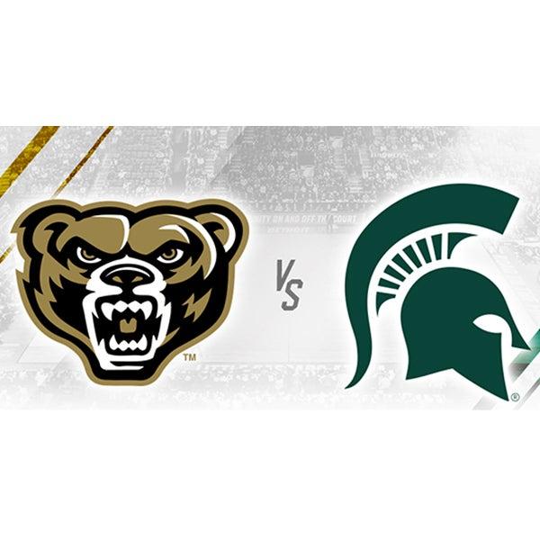 More Info for Oakland University vs Michigan State University