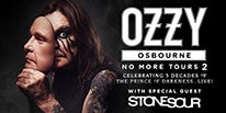 """More Info for OZZY OSBOURNE ANNOUNCES  """"NO MORE TOURS 2"""" NORTH AMERICAN DATES TO INCLUDE DTE ENERGY MUSIC THEATRE SEPTEMBER 19"""