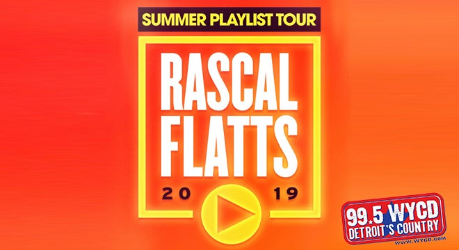 "Rascal Flatts ""Summer Playlist Tour"""