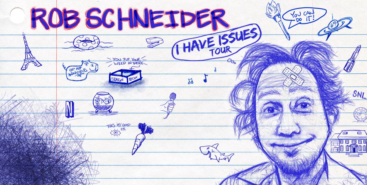 Comedian Rob Schneider