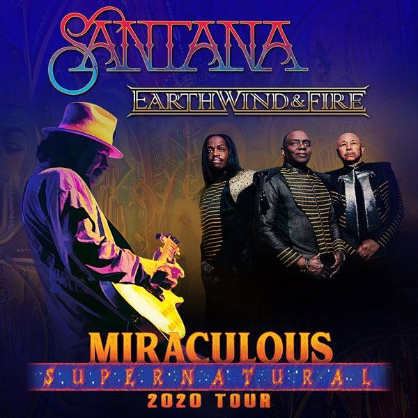 More Info for Carlos Santana and Earth, Wind & Fire