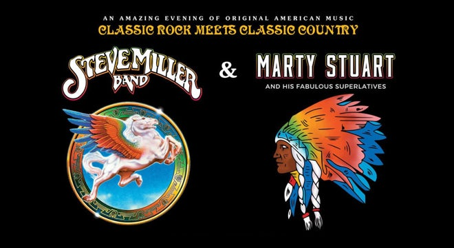 Steve Miller Band and Marty Stuart and his Fabulous Superlatives