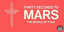 """More Info for THIRTY SECONDS TO MARS TO BRING HEADLINE SUMMER 2018 """"THE MONOLITH TOUR"""" TO DTE ENERGY MUSIC THEATRE JUNE 12"""