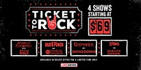 More Info for LIVE NATION ANNOUNCES THE RETURN OF 'TICKET TO ROCK' THIS SUMMER WITH SOME OF THE HOTTEST TOURS BUNDLED TOGETHER FOR ONE LOW PRICE