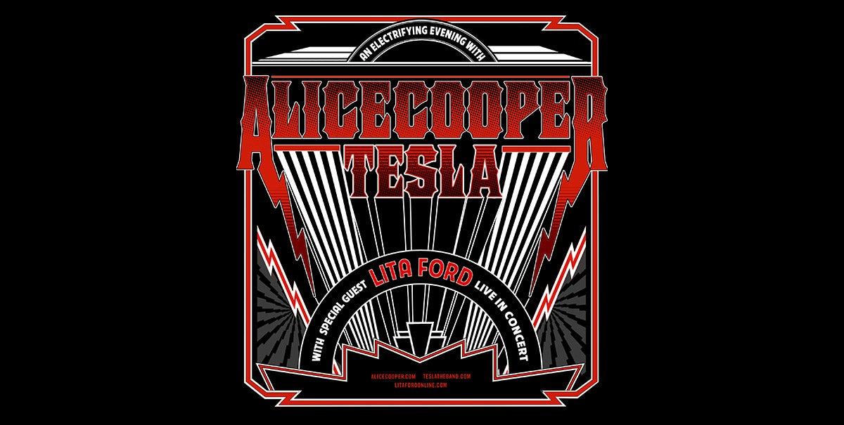 Alice Cooper and Tesla