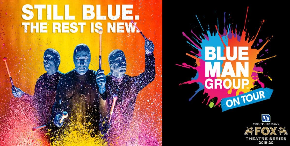 POSTPONED: Blue Man Group