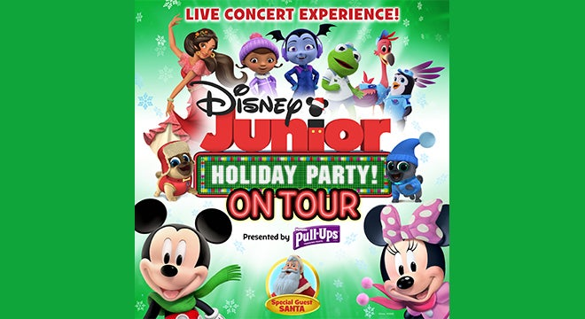 Disney Junior Holiday Party! On Tour presented by Pull-Ups