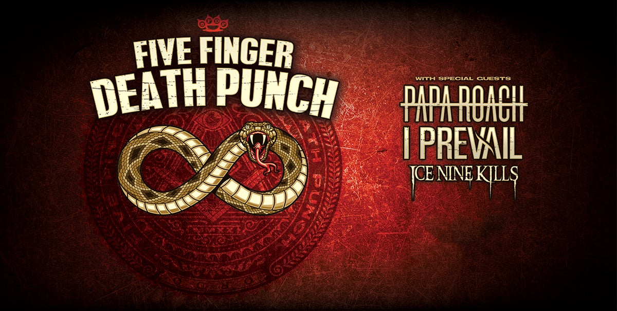CANCELLED: Five Finger Death Punch