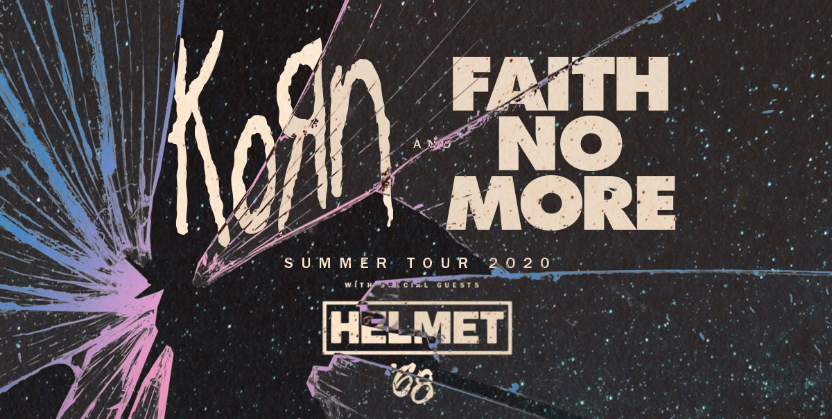CANCELLED: Korn and Faith No More