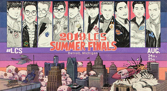 2019 LCS Summer Finals presented by Rocket Mortgage | 313
