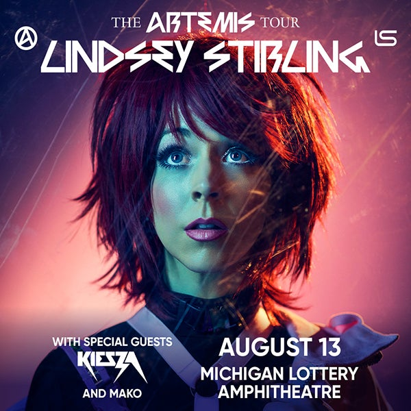 More Info for WORLD RENOWNED VIOLINIST AND DANCER LINDSEY STIRLING ANNOUNCES NORTH AMERICA TOUR  TO INCLUDE MICHIGAN LOTTERY AMPHITHEATRE AUGUST 13