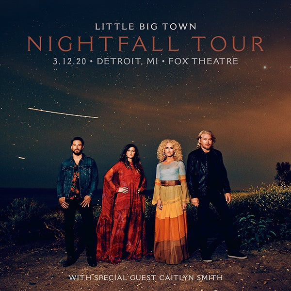 Postponed Little Big Town 313 Presents