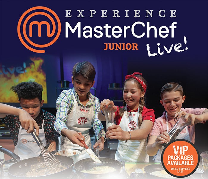 More Info for MASTERCHEF JUNIOR LIVE! ANNOUNCES RESCHEDULED TOUR DATES FOR SPRING 202 TO INCLUDE THE FOX THEATRE FOR FRIDAY, APRIL 23