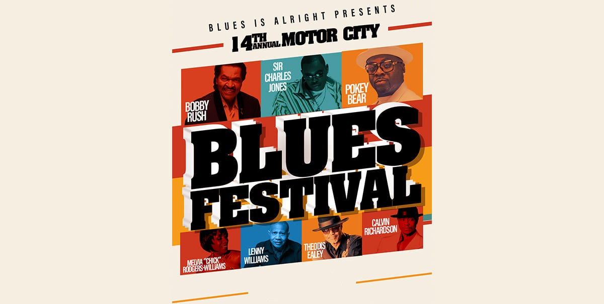 14th Annual Motor City Blues Festival