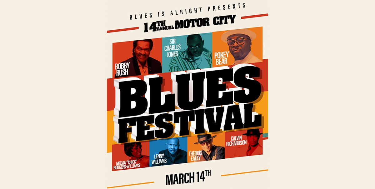 14th Annual Motor City Blues Festival