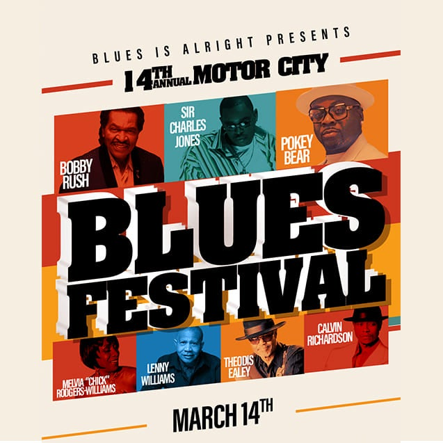 More Info for 14th Annual Motor City Blues Festival
