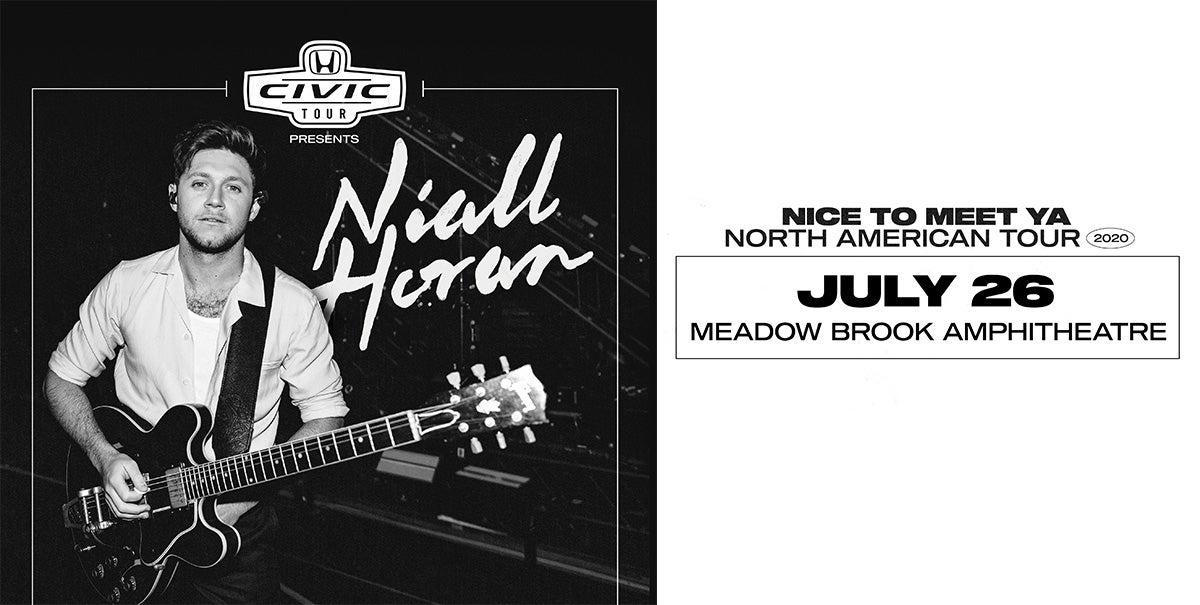 CANCELLED: HONDA CIVIC TOUR PRESENTS NIALL HORAN: NICE TO MEET YA TOUR