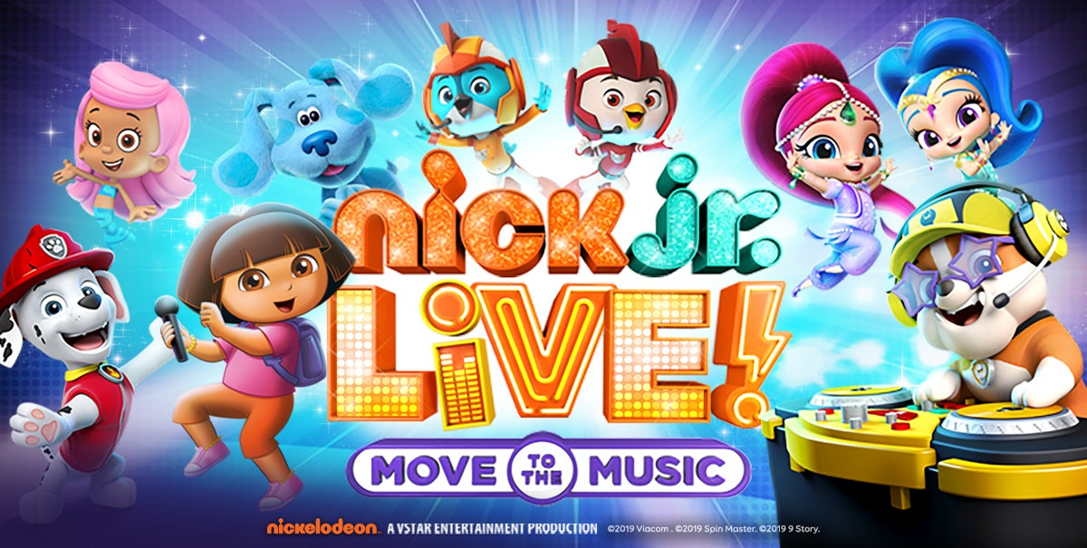 Nick Jr Live!