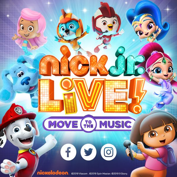 More Info for Nick Jr Live!