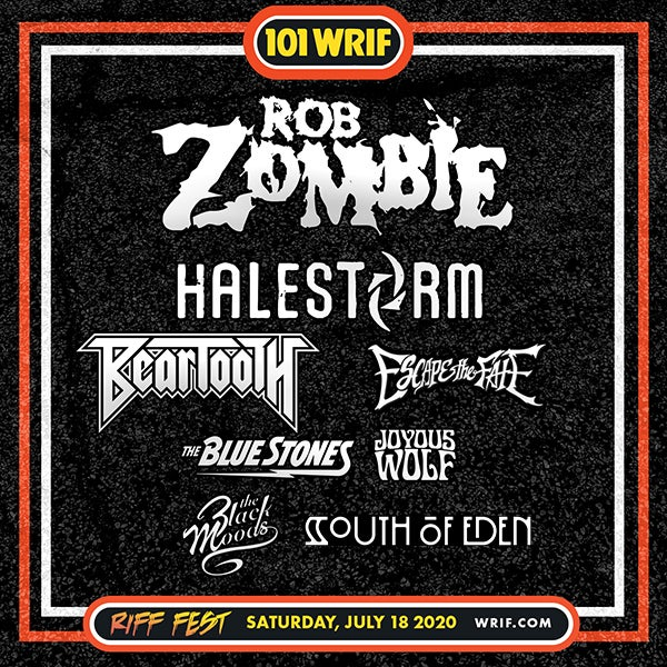 More Info for CANCELLED: 101.1 WRIF presents RIFF FEST 2020
